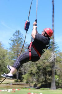 Flying Fox at WA DB Camp in 2014