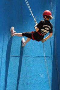 Abseiling at the WA DB Camp 2014